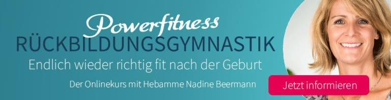 Online Rückbildungskurs mit Nadine Beermann